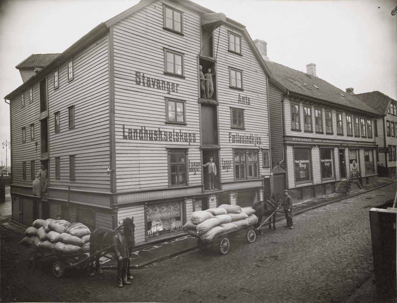 Vintage photography of Nordbogata 8 in Stavanger